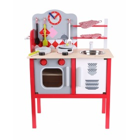 Equipped Children's Wooden Kitchen, EcoToys