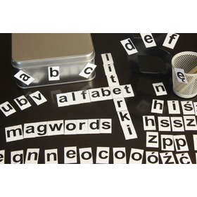 Magnetic alphabet - small letters