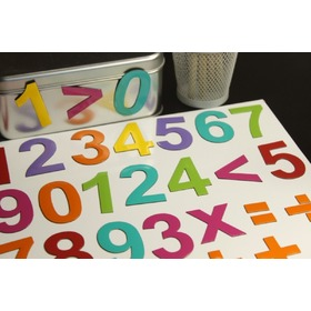 magnetic numeral - mix color, MagWord