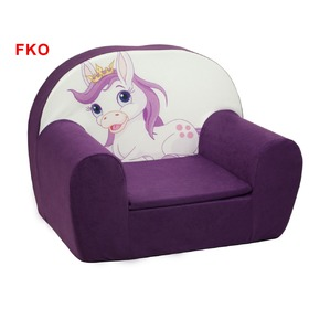 Horse Children's Armchair - Various Colours, Fimex