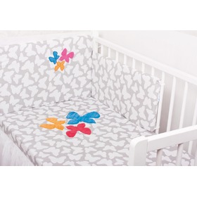 Bedding for cribs - Butterflies