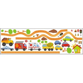 CARS and City Wall Decoration