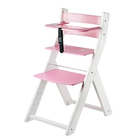 Children growing chair LUCA - pink, Wood Partner