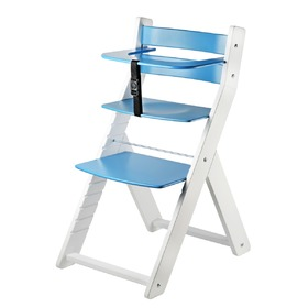 Children growing chair LUCA - blue, Wood Partner