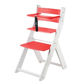 Children growing chair LUCA - red, Wood Partner