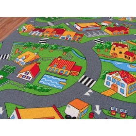 LITTLE VILLAGE Children's Rug