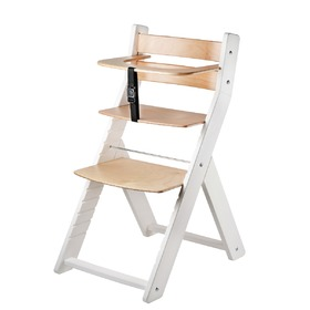 Children growing chair LUCA - natur, Wood Partner