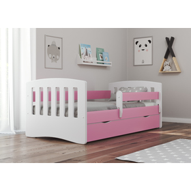Classic Children's Bed - Pink, All Meble