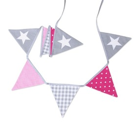 Fabric garland - Sweet star, funwithmum