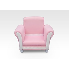 Children's Upholstered Armchair - Pink