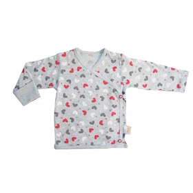 Shirt hearts red, Gluck Fashion