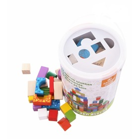 Squares pellets adjusting 100 pc, EcoToys