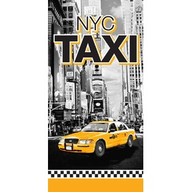 Taxi NYC Children's Beach Towel, Faro