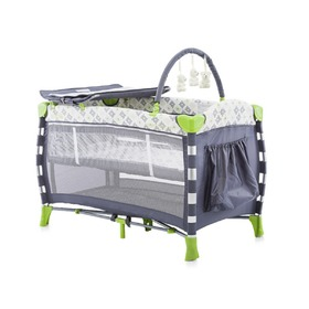 CHIPOLINO Casablanca Neo Play Pen Travel Cot - LIME