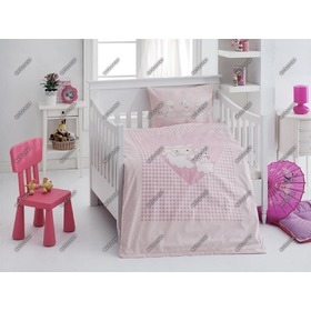 Sheep Children's Bedding Set - Pink, Matějovský