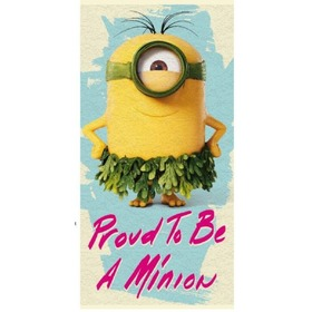 Minions 012 Children's Beach Towel, Faro, The Minions