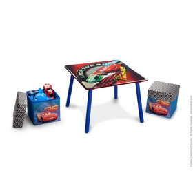Cars Children's Table with Stools, Delta, Cars