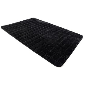 3D BRICK Black Children's Rug, Podlasiak