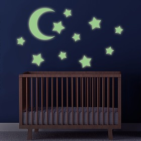 Wall stickers - Moon and shining stars