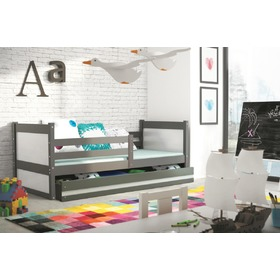 Rocky 1 Children's Bed - Graphite