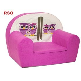 Owls Children's Armchair - Various Colours, Fimex