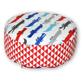 Buckwheat meditation pouffe Crocodile, Gadeo