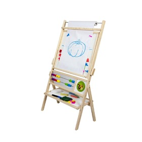 Children magnetic board natural, 3Toys.com