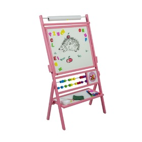 Children magnetic board pink