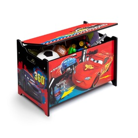 Cars 2 Wooden Toy Chest, Delta, Cars