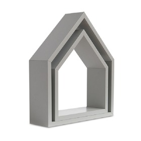 Shelf house grey, funwithmum