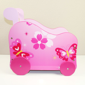 stroller for dolls Butterflies, Homestyle4u