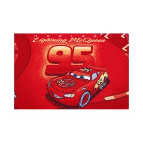 CARS Children's Rug - Red Streets, F.H.Kabis, Cars