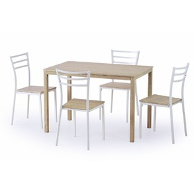 Avant 1+4 Dining Furniture Set, Halmar