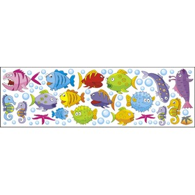 Window stickers - Fish 0,3m2