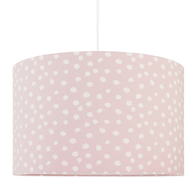 Textile hanging lamp Spots, YoungDeco