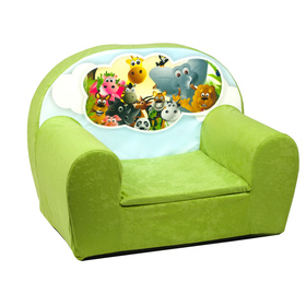 Animals Children's Armchair - Various Colours, Fimex