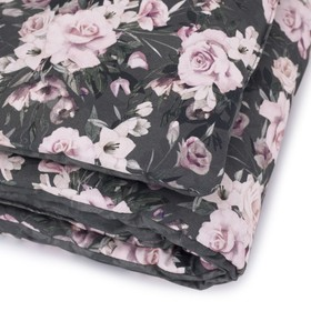 Bed linen with filling Night flowers, Makaszka