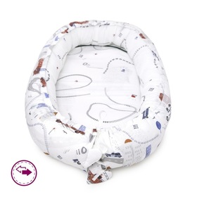 Reversible nest for baby The road, Makaszka