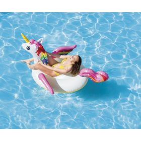 Inflatable mat Unicorn, EcoToys