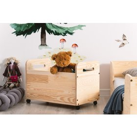 Wooden chest for toys BOX, ADEKO STOLARNIA