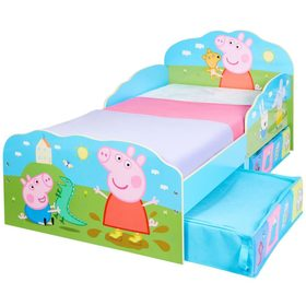 Children bed Peppa Pig with storage boxes, Moose Toys Ltd