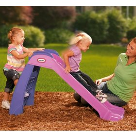 Children slide 120 cm - pinkish-purple, Keny Toys