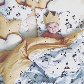 Children pillow star Small prince, Makaszka