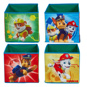 four storage boxes - Paw Patrol, Moose Toys Ltd , Paw Patrol