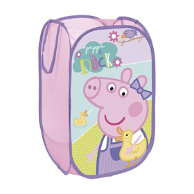 Children folding basket to toys Piggy Peppa, Arditex, Peppa pig