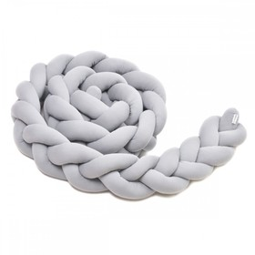 Braid guard 360 cm - gray, T-Tomi