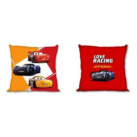 Cushion cover 40x40 cm - Cars 3 - yellow-red, Faro, Cars