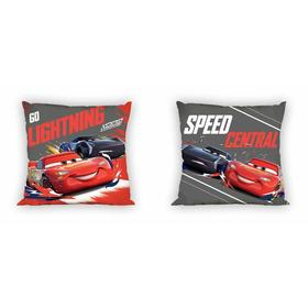 Coating to pillow 40x40 Cars - lightning McQueen a Jackson Thunder, Faro, Cars