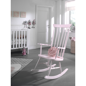 Rocking chair ROCKY pink, VIPACK FURNITURE