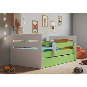 Ourbaby children's bed Tomi - green, All Meble